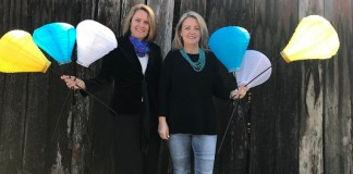 Fiona Goldsmith and Feona Henness hope you will Light the Night at Bella Vista for the Leukeamia Foundation