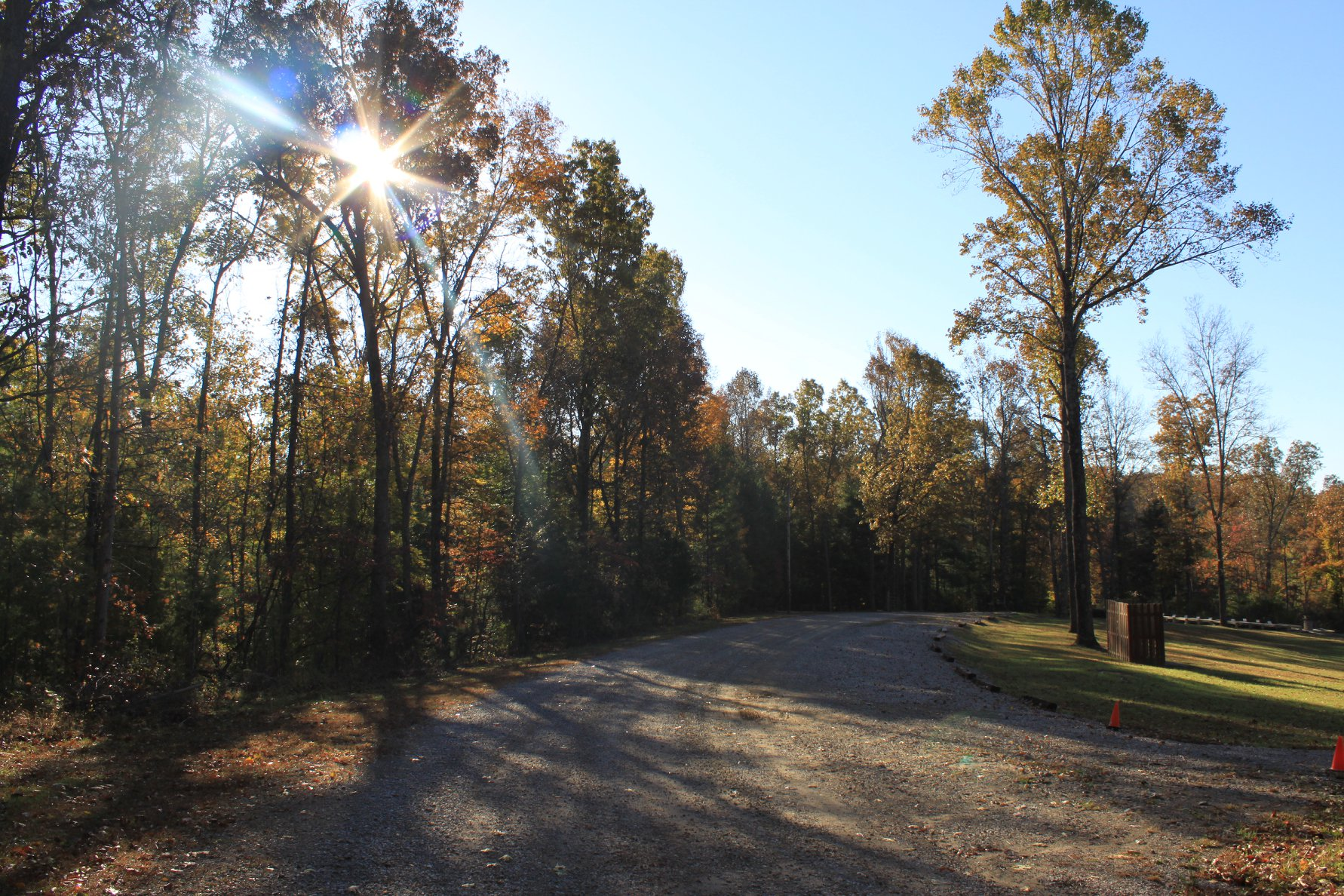 Outdoor view of Hilltop Christian Camp grounds