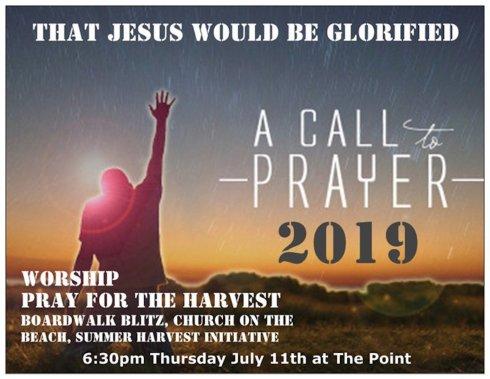 Evangelism Prayer and worship night