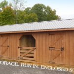 The Perfect Combo Barn For The Hobby Farm