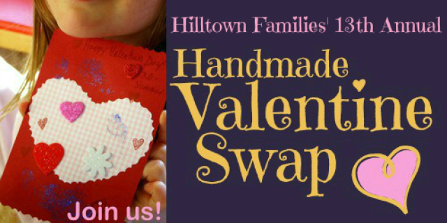 Logo for 13th Annual Valentine Swap