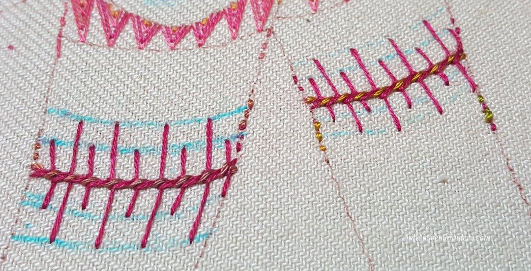 TAST 2016 – Stitch 29 – Barb stitch