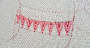 Arrow Stitch sample