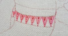 Arrow Stitch sample