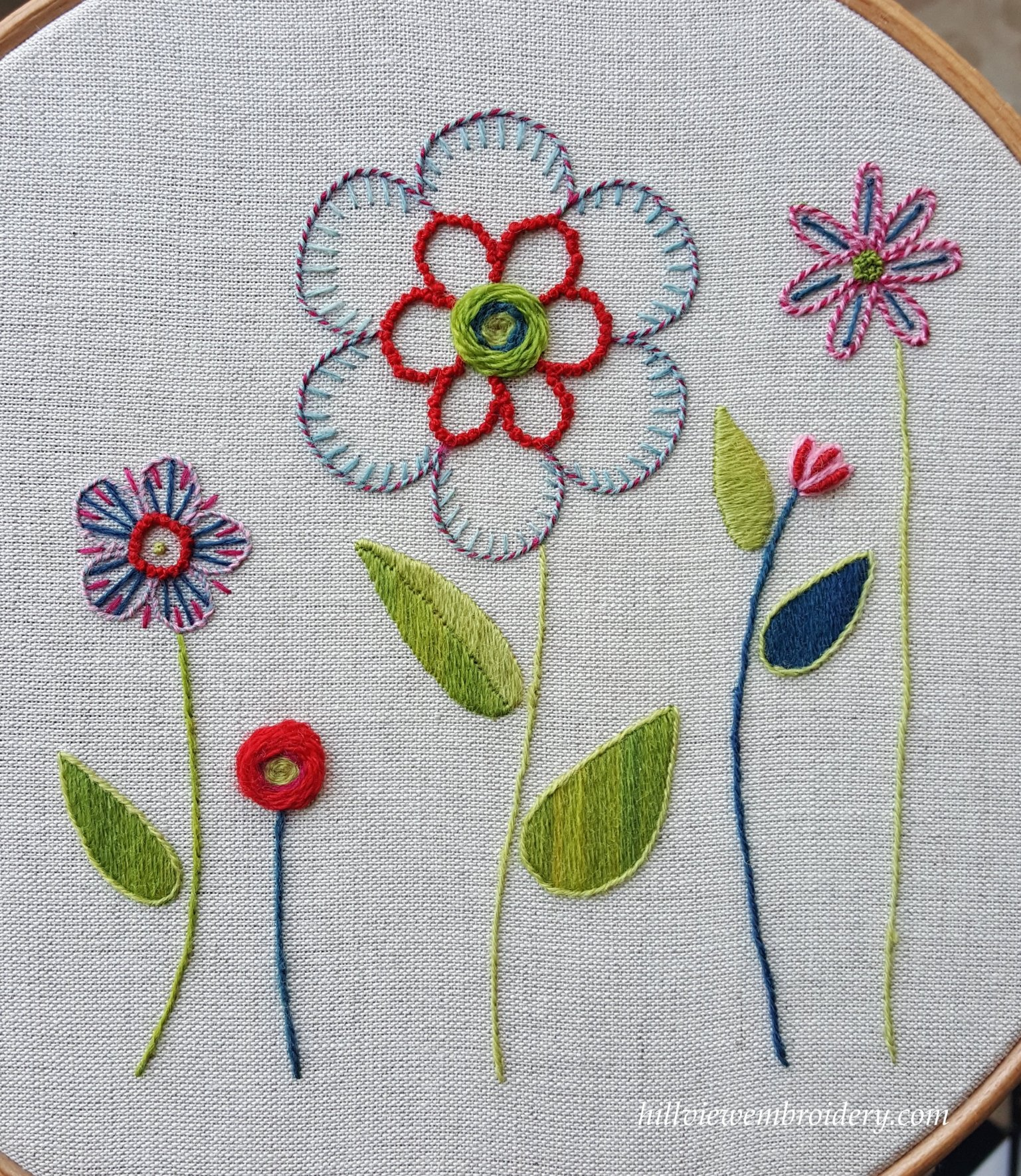 An Introduction To Crewel Work Day Class At The Rsn Hillview