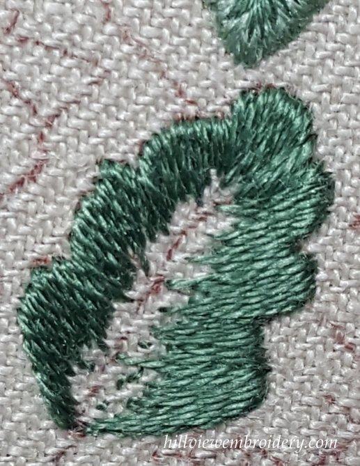 first colour oak leaf