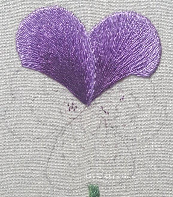 back petals