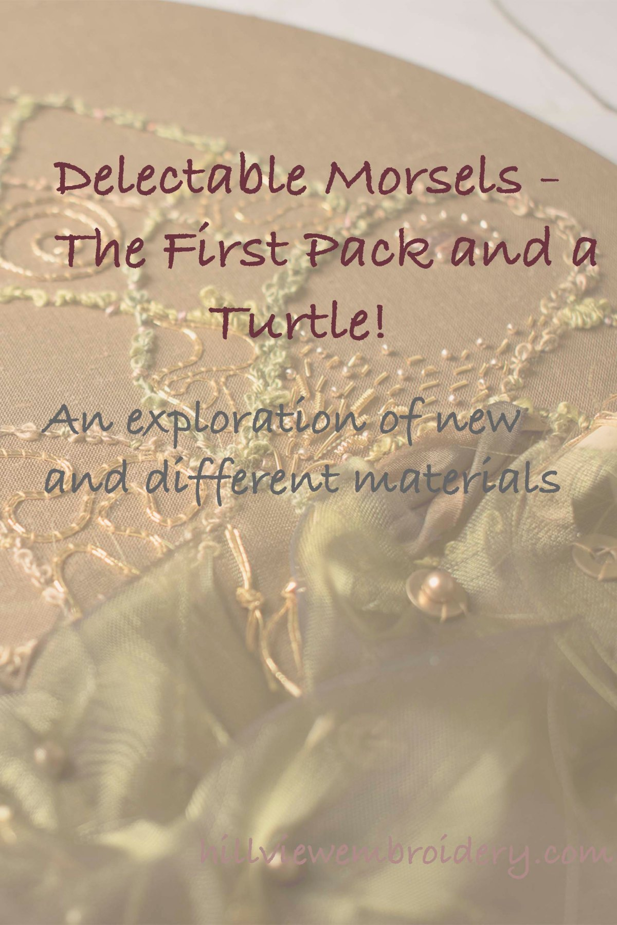 The Delectable Morsels pack gives a variety and interesting range of new materials to use - see how I used them!