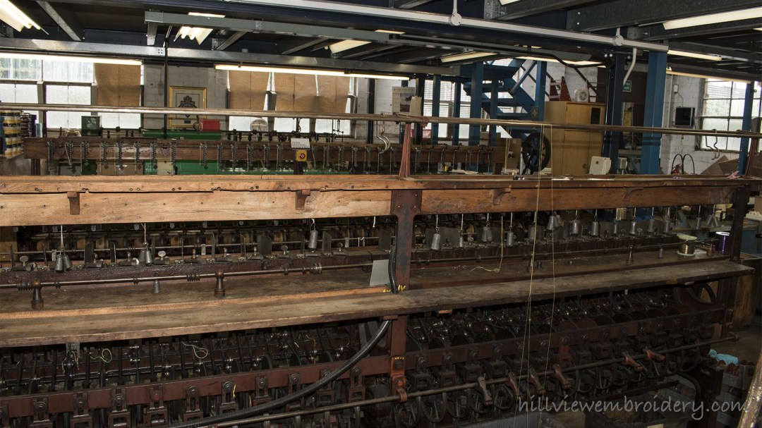 factory floor at Benton and Johnson