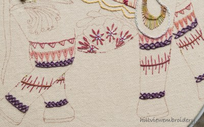 TAST Stitch 60 – Inverted Feather Stitch