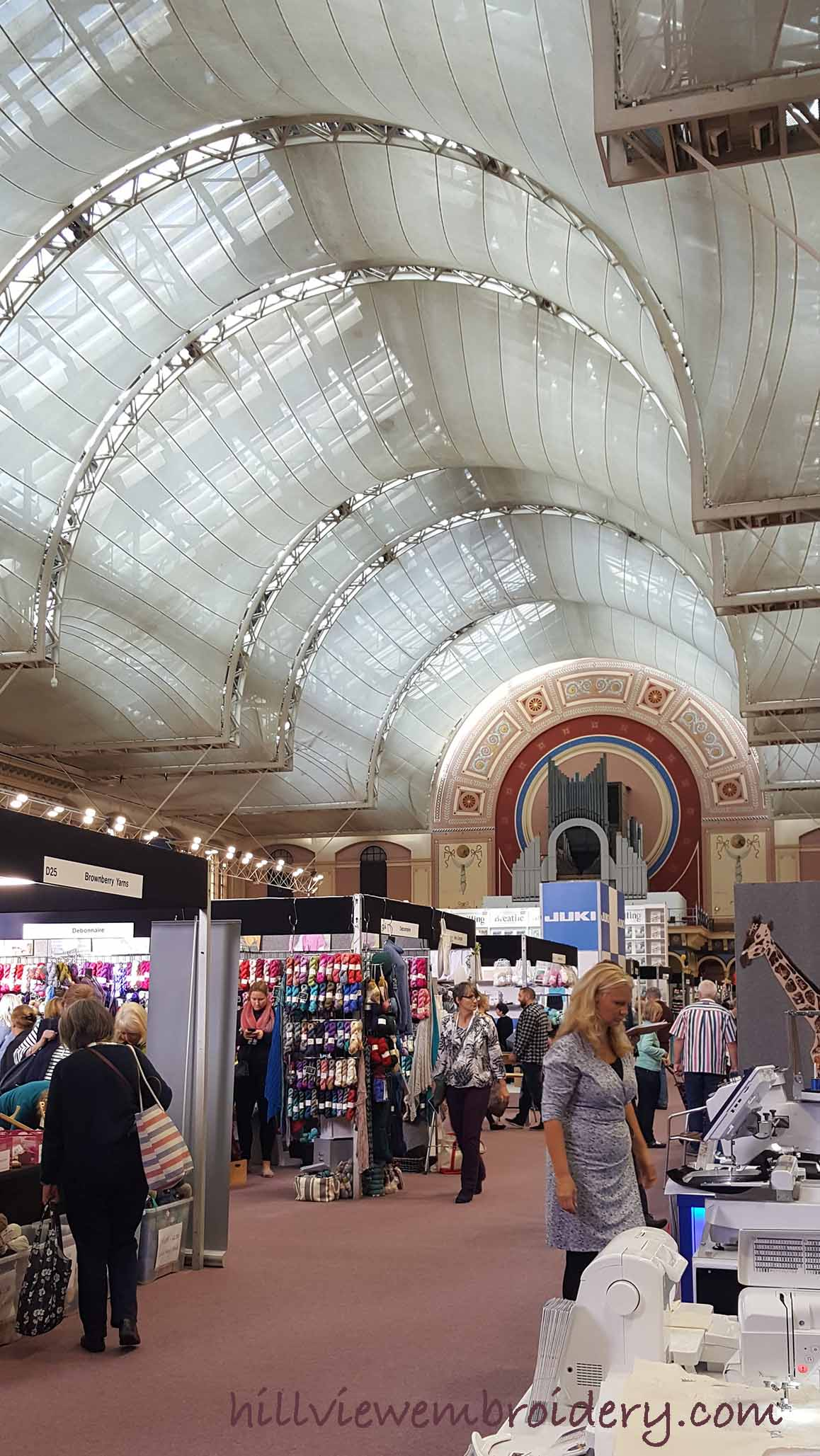 knitting and stitching show retailers