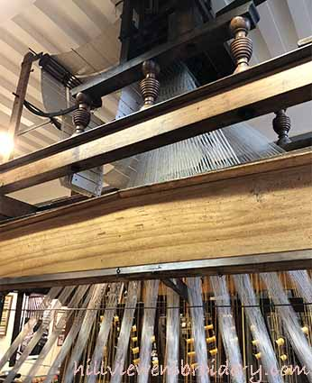 silk weaving trim loom