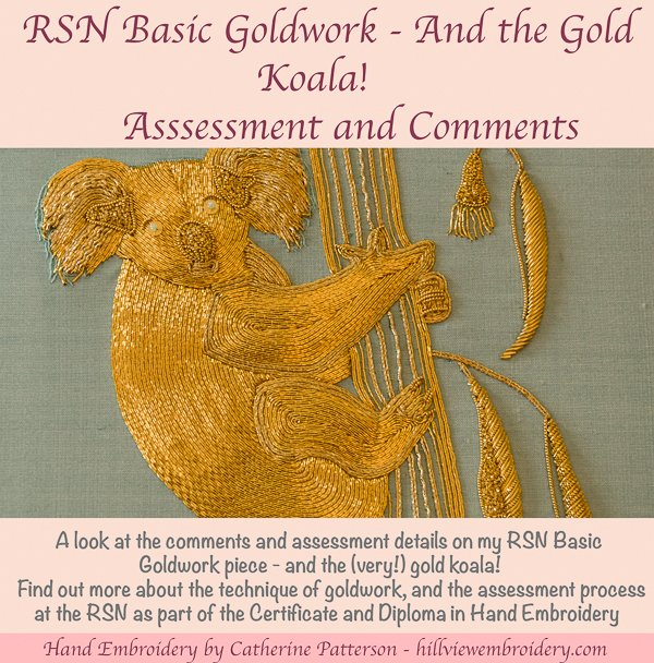 RSN Basic Goldwork assessment and comments