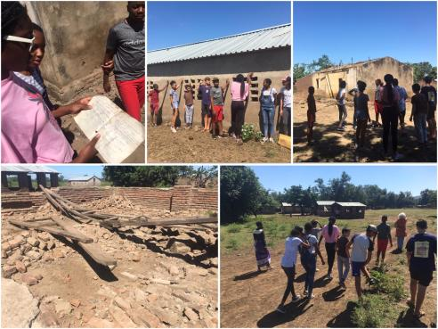 Njereza Primary School - damaged by Hurricane Idai