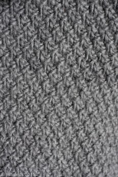 double seed stitch knitting texture