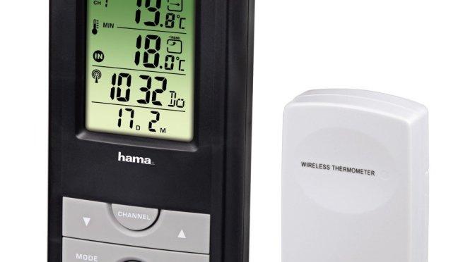 Chollazo, estación meteorológica por 10,45 € Hama EWS 165