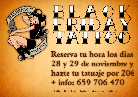 black friday tatuaje