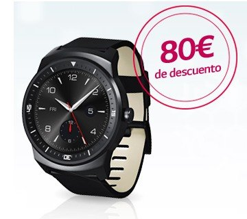 Chollo smartwatch LG G watch R por 199 €
