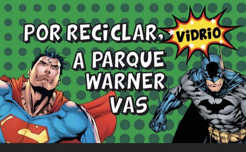 Entrada gratis para el parque Warner de Madrid