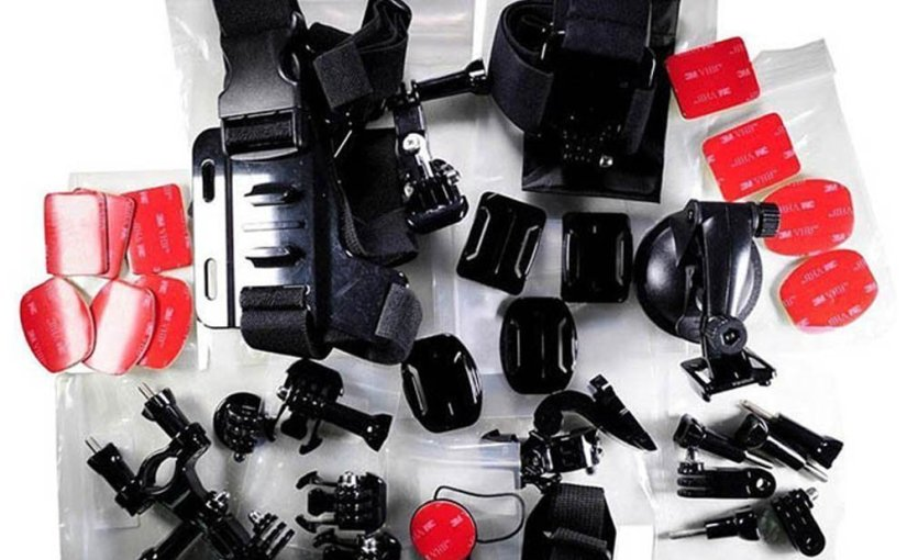 Chollazo 33 accesorios GoPro por 12,87 €