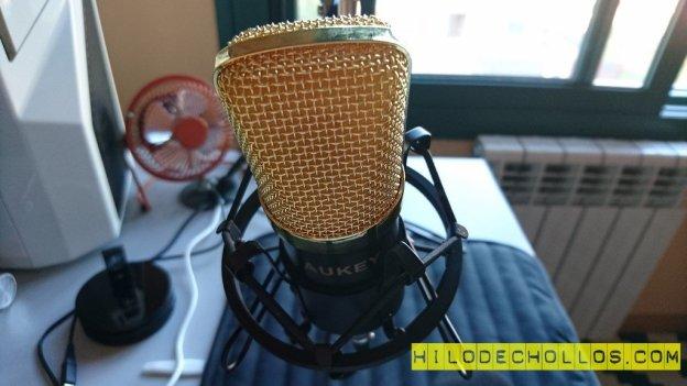 micrófono profesional aukey