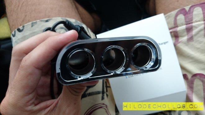 adaptador de corriente coche
