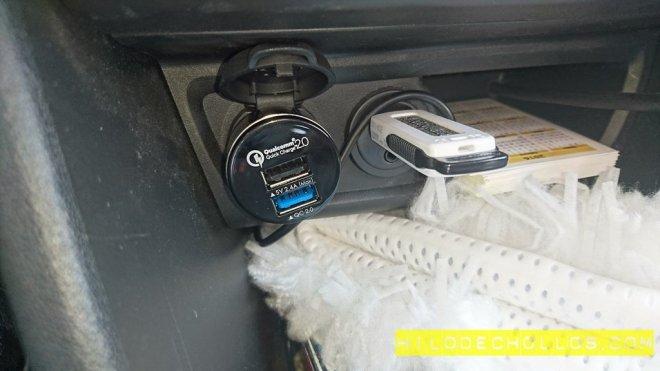 cargador coche mpow