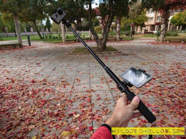 palo selfie adaptable barato