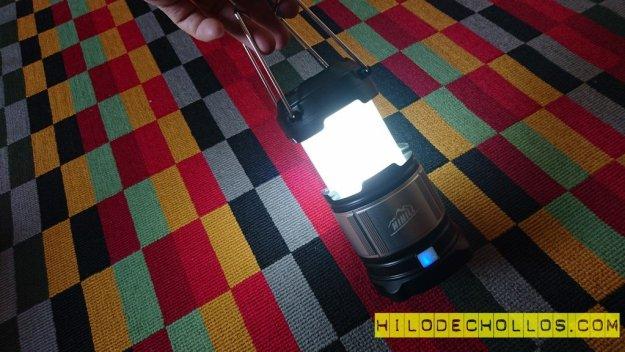 farol LED camping