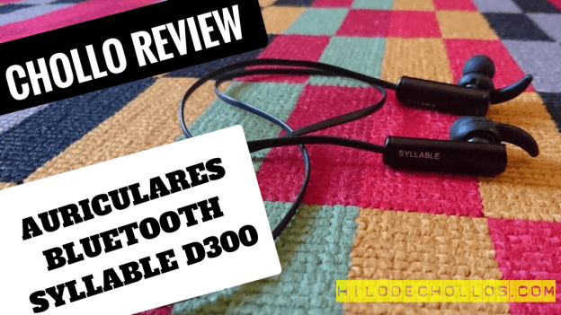 Lleva tu música a todas partes con estos auriculares in ear bluetooth Syllable D300