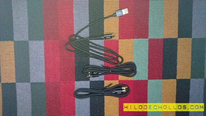 PACK CABLES MICRO USB BARATOS