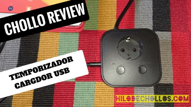 Review de un curioso cargador USB de 4 puertos Aukey
