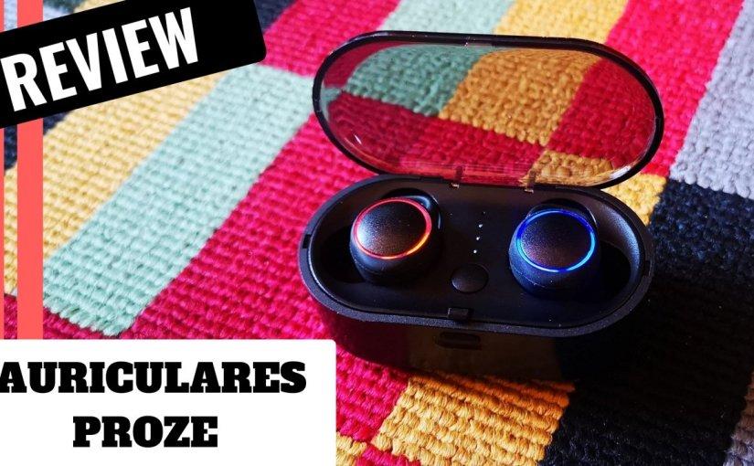 Review de unos auriculares que suenan SUPER POTENTES bluetooth 5.0 Proze