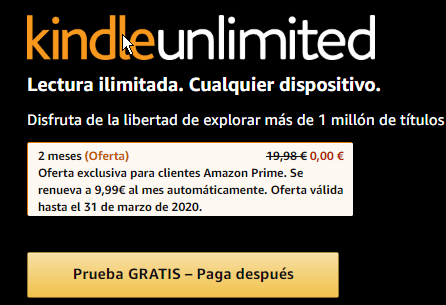 kindle gratis