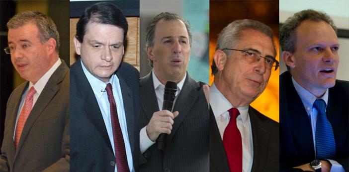 Meade y Zedillo, entre los favoritos para suplir a Carstens: Bloomberg