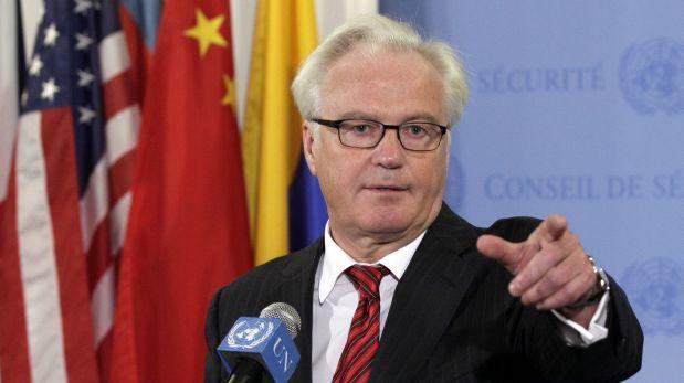 Muere en NY embajador ruso ante la ONU