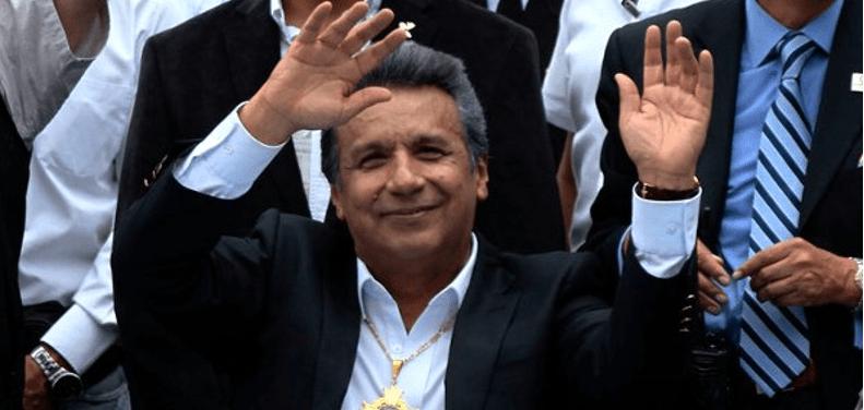 Lenin gana elección en Ecuador; iría a segunda vuelta