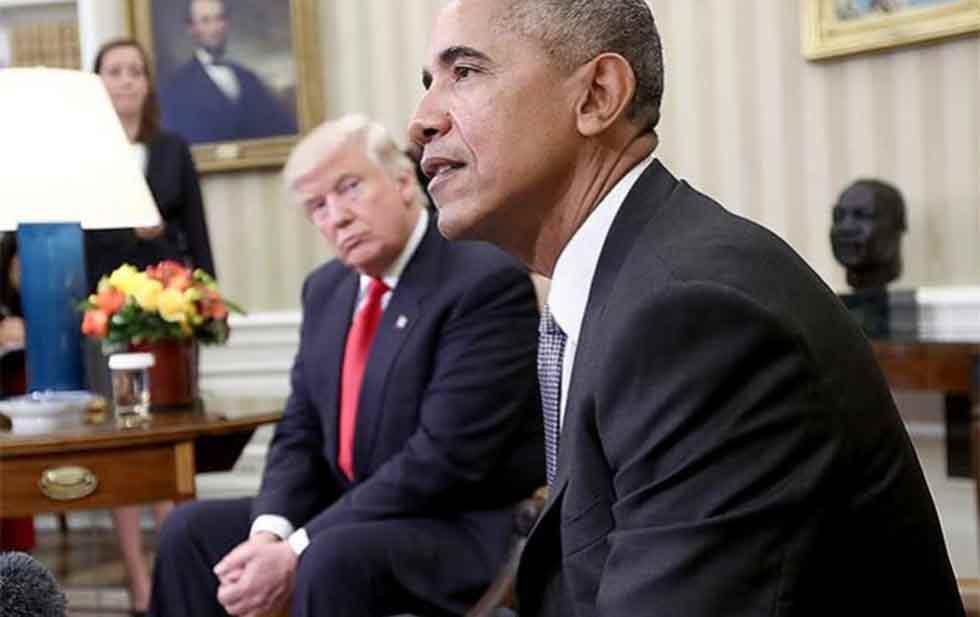 Trump reclama a Obama por el Rusiagate