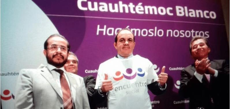 Cuauhtémoc Blanco sería candidato de Morena a gobernador de Morelos