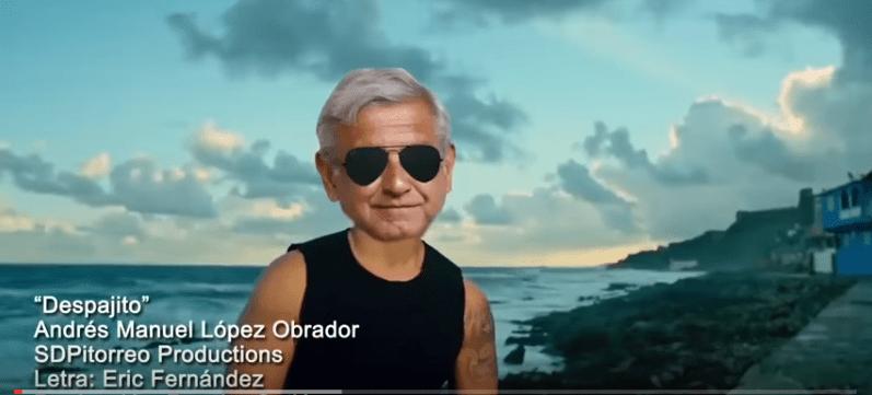"""López Obrador comparte la parodia """"Des-pa-jito"""" en Twitter (VIDEO)"""