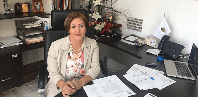 Tras regresar al Congreso, Eva Cadena presenta denuncia por el video