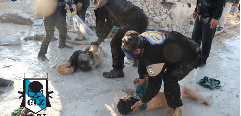 Rusia muestra fotos que desmentirían el uso de gas sarín en Siria
