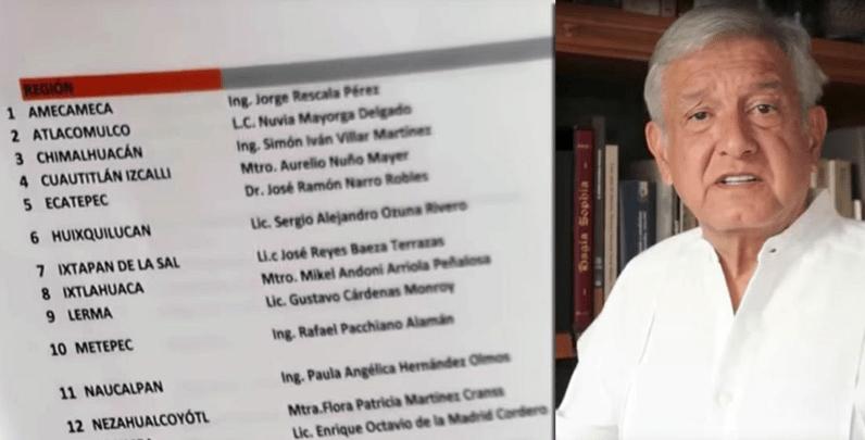 AMLO presenta documentos de operación del gabinete de EPN en Edomex (VIDEO)