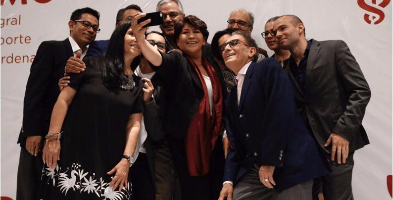 Delfina presenta su equipo de transición de gobierno