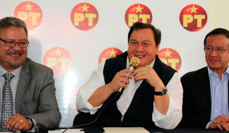 Candidato del PT a gobernador en Edomex declina a favor de Delfina