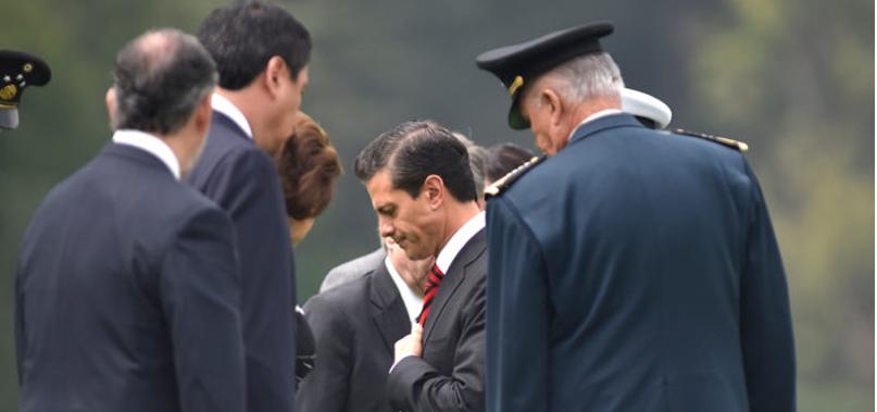Descarta Peña Nieto cambios en el gabinete… por el momento