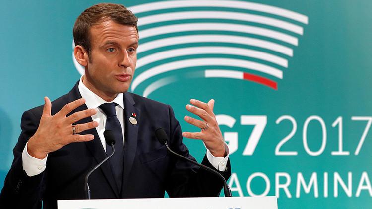"""Macron: """"El diálogo con Rusia es necesario"""""""