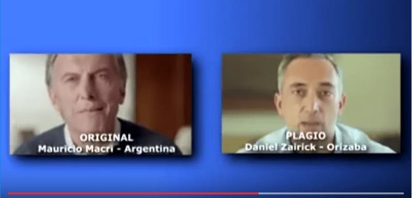 Plagia candidato de PAN-PRD en Orizaba un spot de Mauricio Macri (VIDEO)