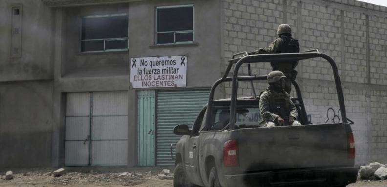PGR investiga a 30 militares por el enfrentamiento en Palmarito, Puebla