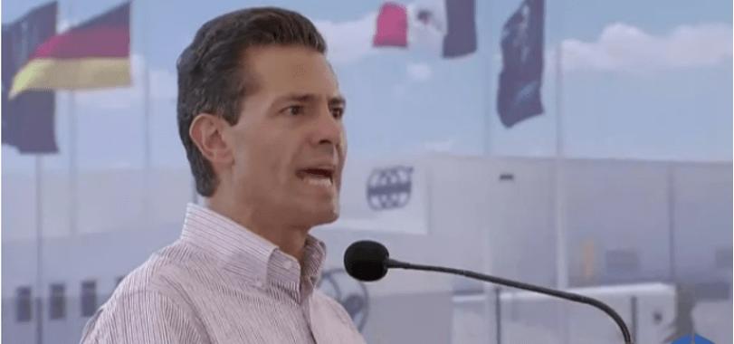 """Yo también me he sentido espiado"", se conduele Peña Nieto"